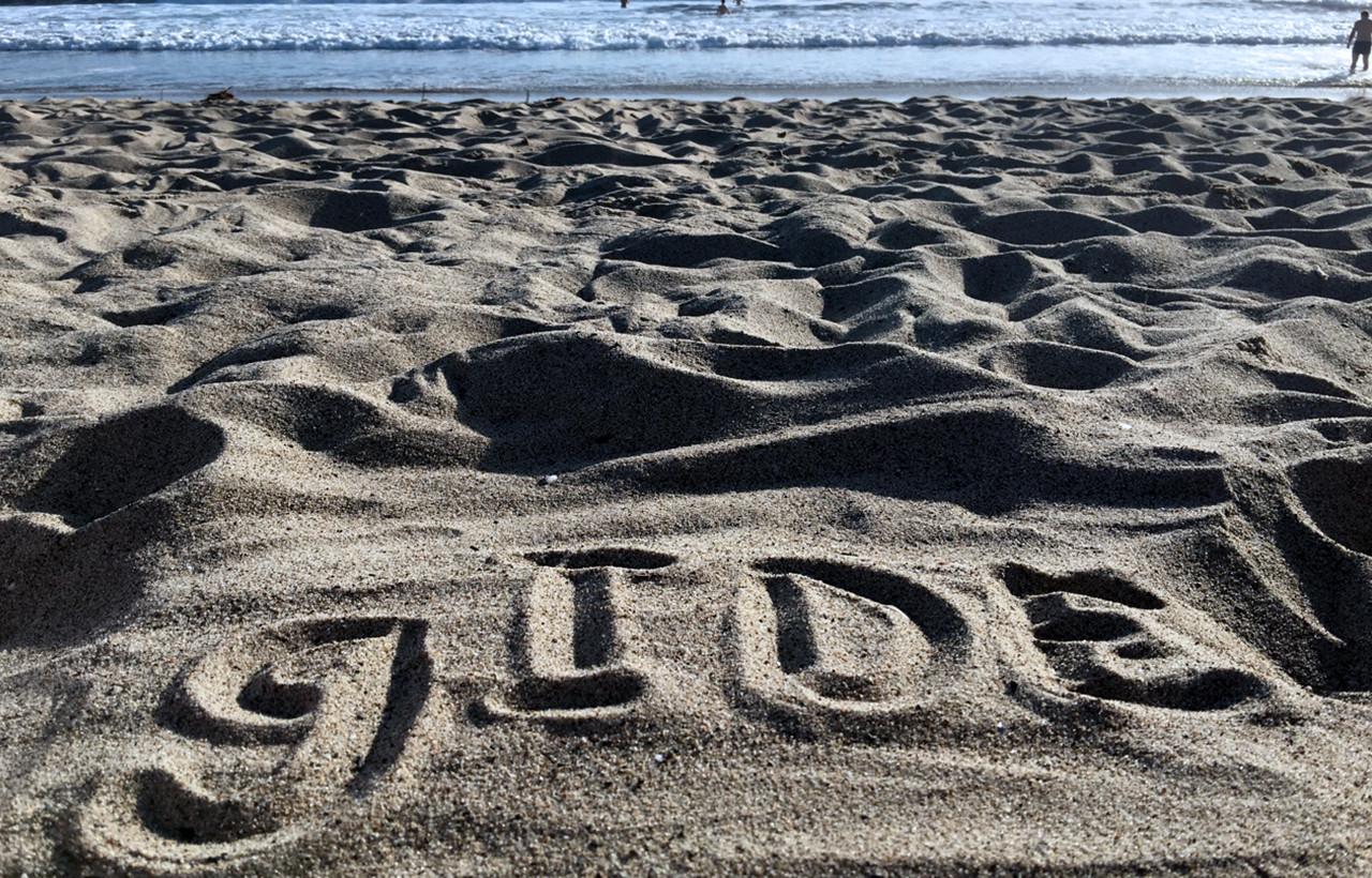 gIDE_in_sand
